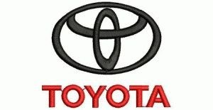 free embroidery design toyota