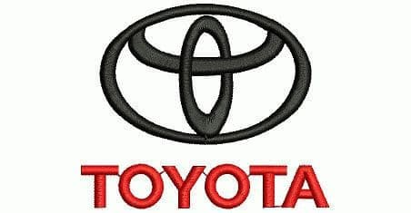 Bailongju Toyota Easy Installation Car Door LED Logo