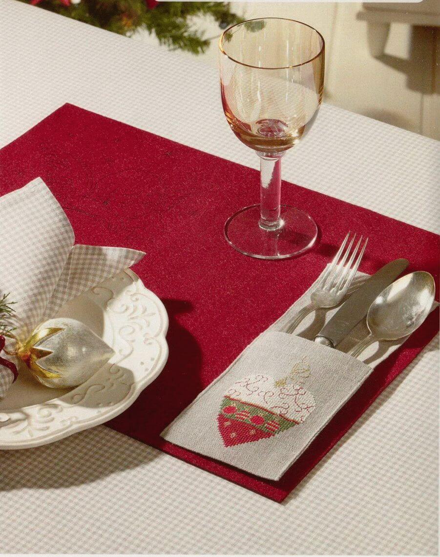 Салфетки из ткани под тарелку своими руками