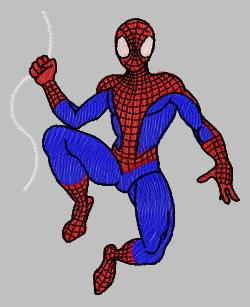 embroidery designs spiderman