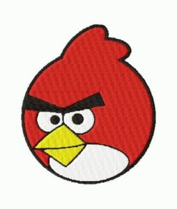 free embroidery design angry birds