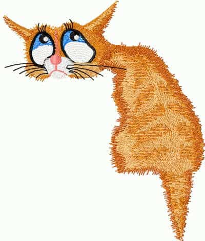 Free Embroidery Design Cat Nostalgic Free Embroidery Designs