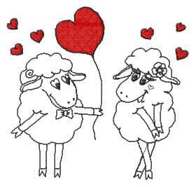 embroidery designs valentine day