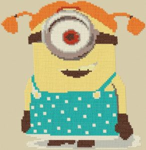 free embroidery design minion stuart