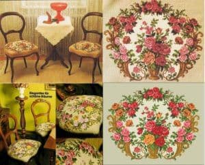 needlepoint.roses free patterns