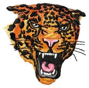 Embroidery design Tiger