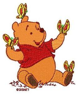 machine embroidery designs Winnie Pooh